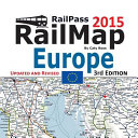 Railpass Railmap Europe 2015