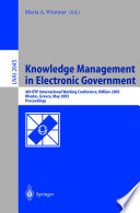 Knowledge Management In Electronic Government