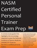 NASM Certified Personal Trainer Exam Prep