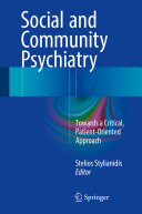 Pdf Social and Community Psychiatry Telecharger