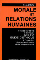 Pdf Morale et relations humaines Telecharger