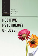 Positive Psychology of Love