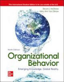 Cover of ISE Organizational Behavior