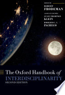 The Oxford Handbook Of Interdisciplinarity Book PDF