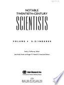 Notable Twentieth-century Scientists: S-Z