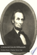 A Memorial Lincoln Bibliography