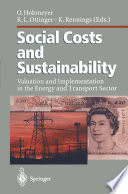 Social Costs And Sustainability Book PDF