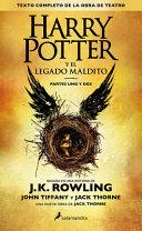 Harry Potter y el legado maldito banner backdrop