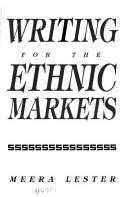 Writing for the Ethnic Markets