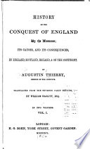 History of the Conquest of England by the Normans Book PDF