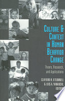 Culture   Context in Human Behavior Change
