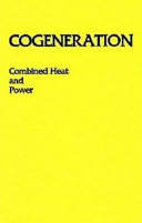 Cogeneration--combined Heat and Power (CHP)
