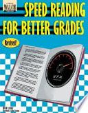 Speed Reading for Better Grades Pdf/ePub eBook