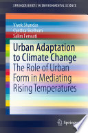 Urban Adaptation to Climate Change