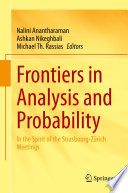 Frontiers in Analysis and Probability Book