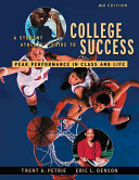 A Student Athlete s Guide to College Success