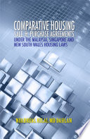 Comparative Housing Sales and Purchase Agreements Under the Malaysia  Singapore and New South Wales Housing Laws  UUM Press