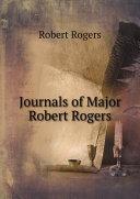 Journals of Major Robert Rogers