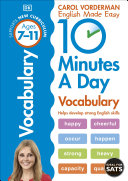 10 Minutes a Day Vocabulary Ages 7 11 Key Stage 2
