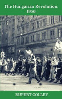 The Hungarian Revolution  1956 Book