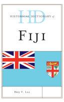 Historical Dictionary of Fiji Pdf/ePub eBook