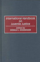 International Handbook on Juvenile Justice