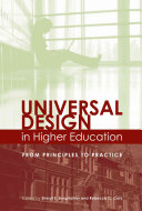 Universal Design in Higher Education