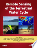 Remote Sensing Of The Terrestrial Water Cycle Book PDF