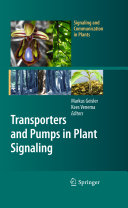 Transporters and Pumps in Plant Signaling