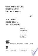 Austrian historical bibliography