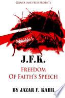 J F K  Freedom of Faith s Speech Book PDF