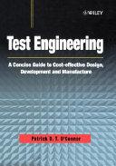 Test engineering