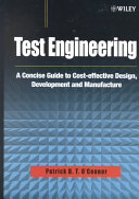 Test Engineering Book PDF