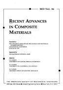 Recent Advances in Composite Materials Book