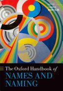 The Oxford Handbook of Names and Naming [Pdf/ePub] eBook