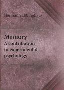 Memory [Pdf/ePub] eBook