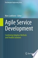 Agile Service Development Book PDF