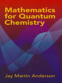 Mathematics for Quantum Chemistry