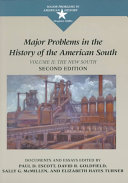 Pdf Major Problems in the History of the American South: The new South