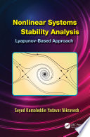 Nonlinear Systems Stability Analysis Book PDF