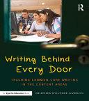 Writing Behind Every Door