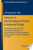 Advances in Interdisciplinary Practice in Industrial Design Book
