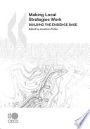 Local Economic and Employment Development  LEED  Making Local Strategies Work Building the Evidence Base Book