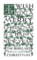The Burglar's Christmas Pdf/ePub eBook