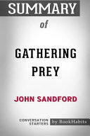 Summary of Gathering Prey by John Sandford  Conversation Starters