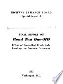 Final Report On Road Test One Md