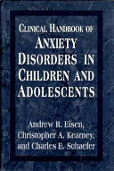 Clinical Handbook of Anxiety Disorders in Children and Adolescents Book PDF