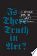 Is There Truth In Art