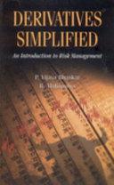 Derivatives Simplified Book