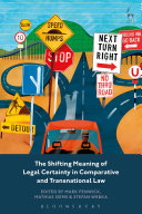 The Shifting Meaning of Legal Certainty in Comparative and Transnational Law Pdf/ePub eBook